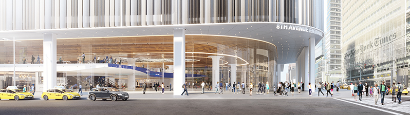 Rendering of the new Port Authority Bus Terminal - Office of Governor Andrew M Cuomo