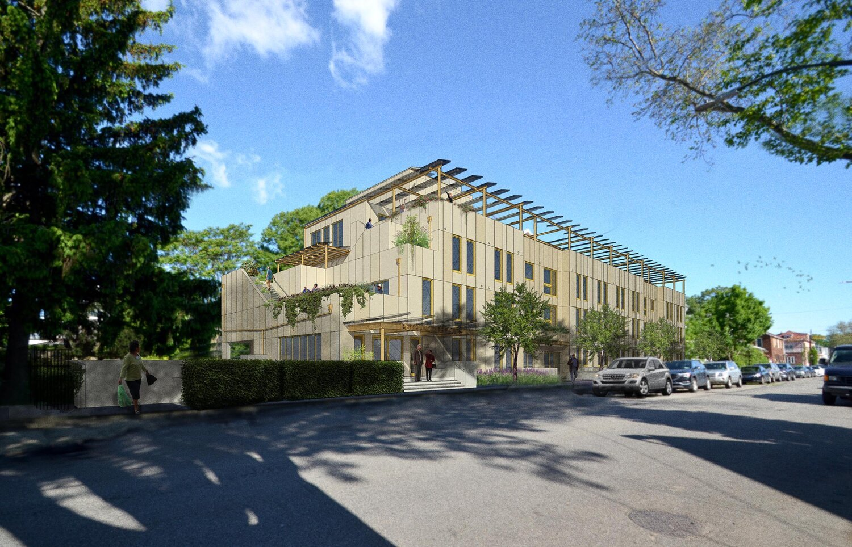 Bethany Terraces, courtesy of Paul A. Castrucci Architects