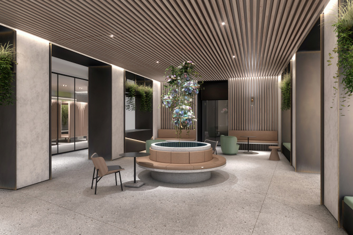 Outdoor space at 225 West 28th Street