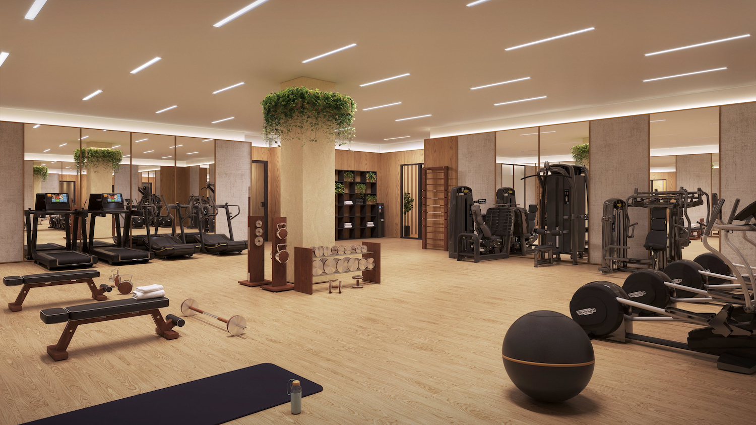 Gym at 225 West 28th Street