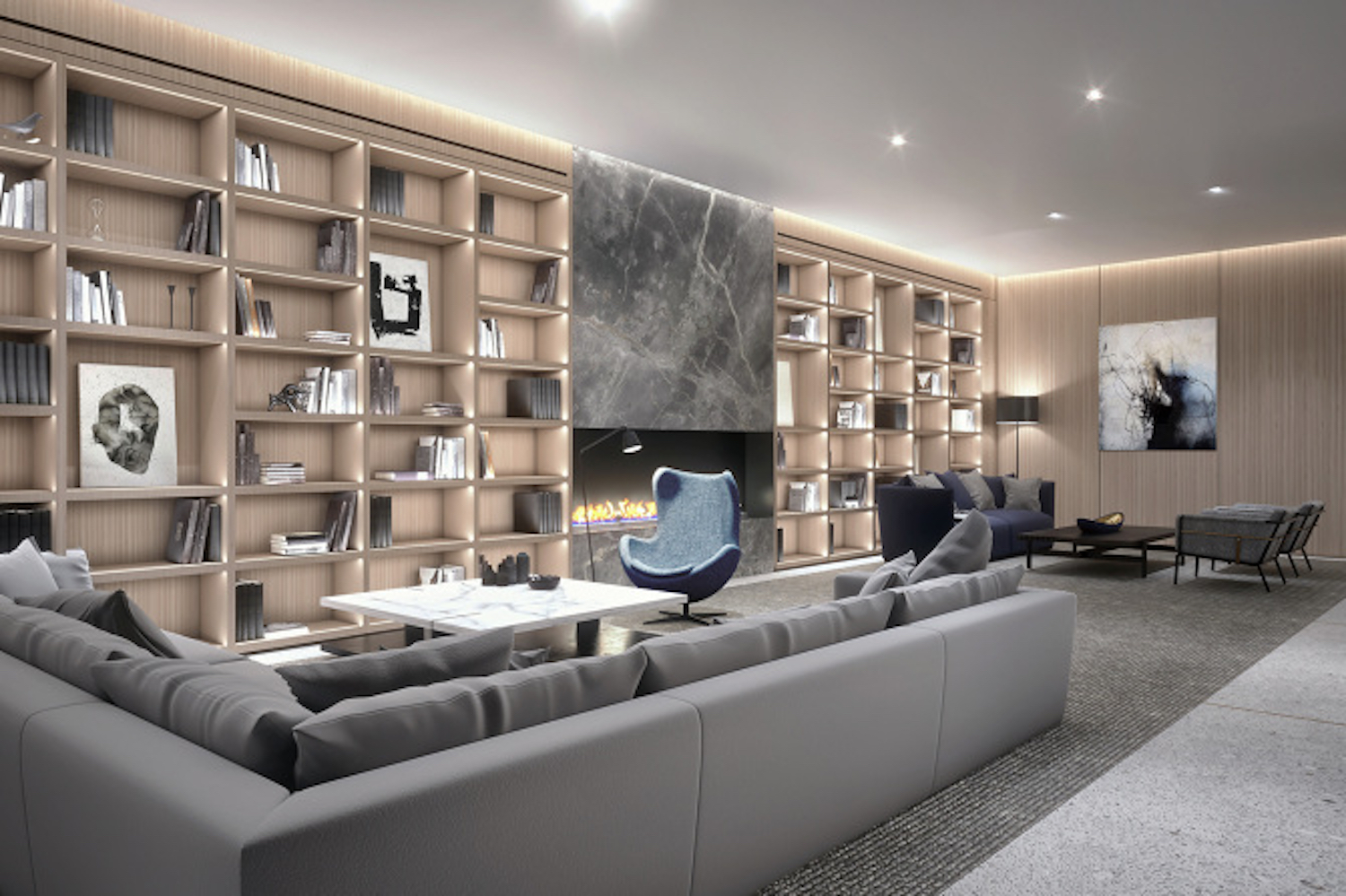 Lounge at 225 West 28th Street