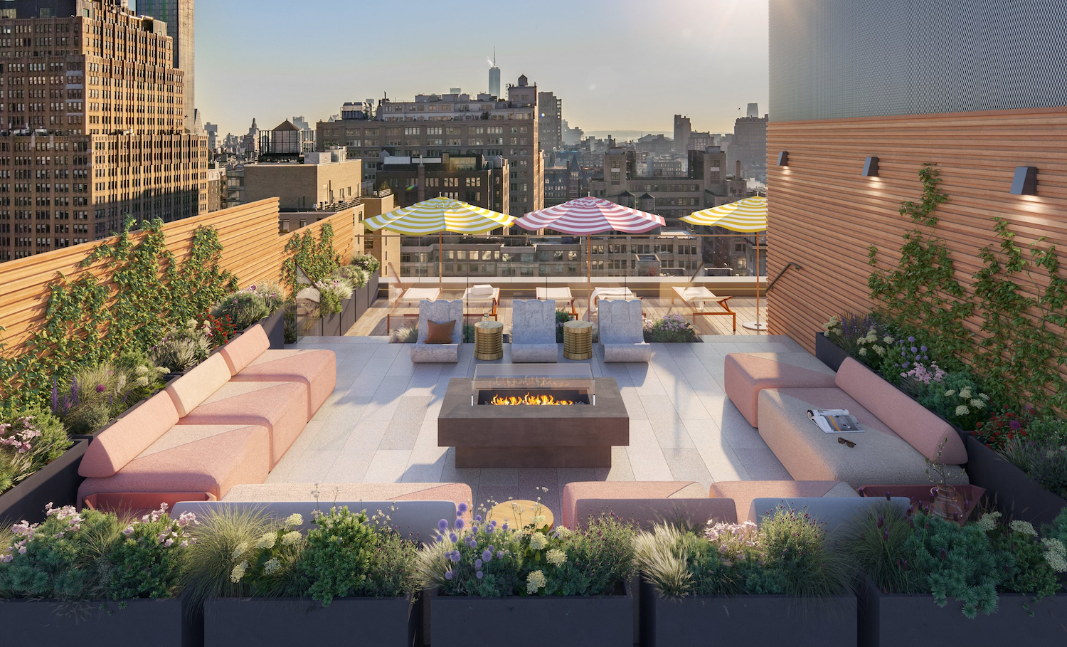 Rooftop at 225 West 28th Street