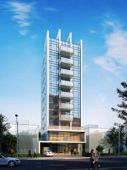 Rendering of 31-21 Linden Place - Focal Point Architects & Associates