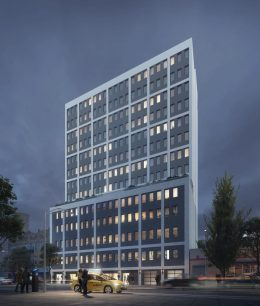 Rendering of 394-402 Mother Gaston Boulevard - J Frankl Associates