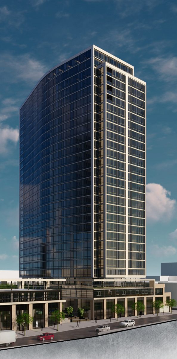 Rendering of One Clinton Park - RXR Realty