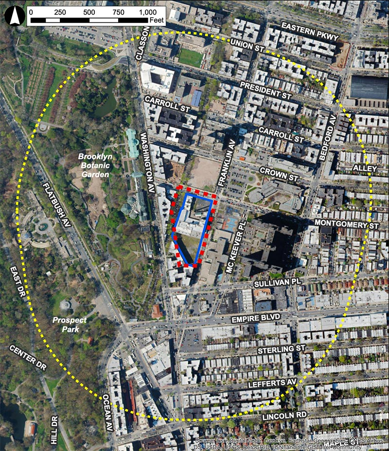 Site Map of 960 Franklin Avenue - Hill West Architects