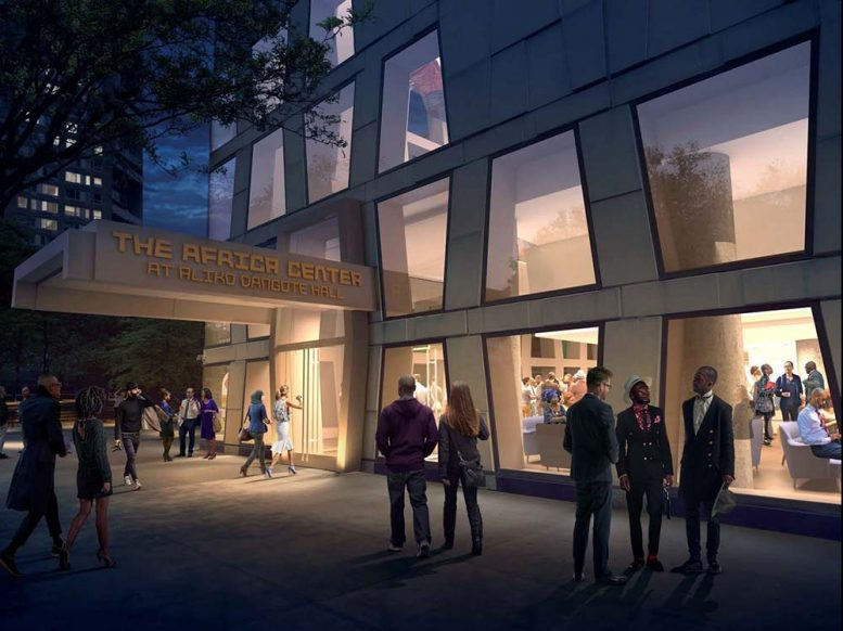 The Africa Center's Fifth Avenue Entrance - Robert A.M. Stern Architects; Caples Jefferson Architects PC