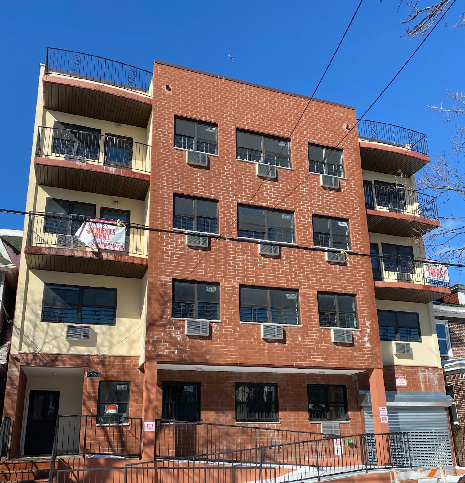2625 Grand Avenue in University Heights, The Bronx. Image courtesy of NY Housing Connect