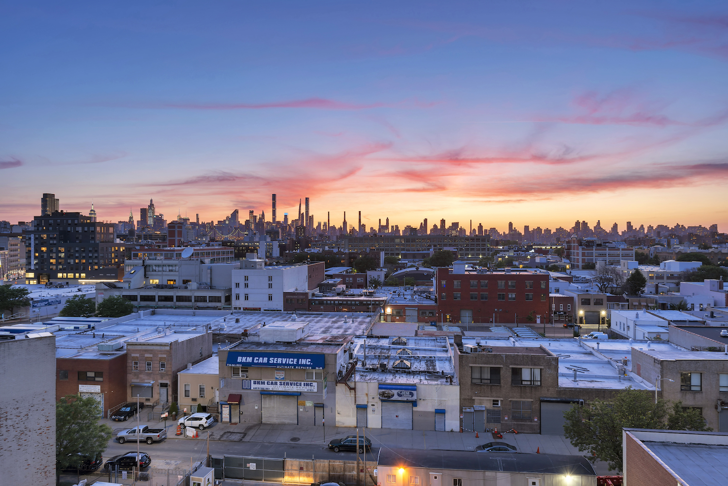Views from The Astor LIC, at 36-20 Steinway Street in Queens