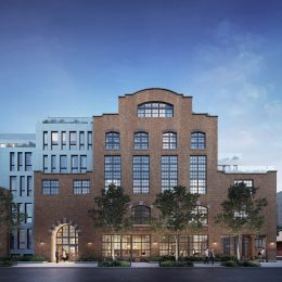 Exterior rendering of Wonder Lofts - Prism Capital Partners; MVMK Architecture + Design