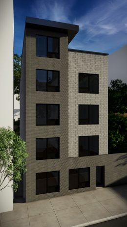 Front view of 557 East 161st Street - Node Architecture, Engineering, Consulting