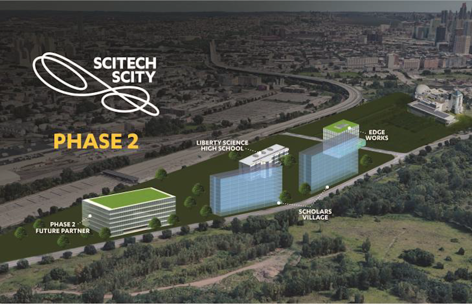 Phase Two of SciTech Scity in Jersey City