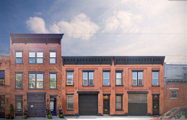 Original conditions at 410-412 Waverly Avenue - Adjaye Associates