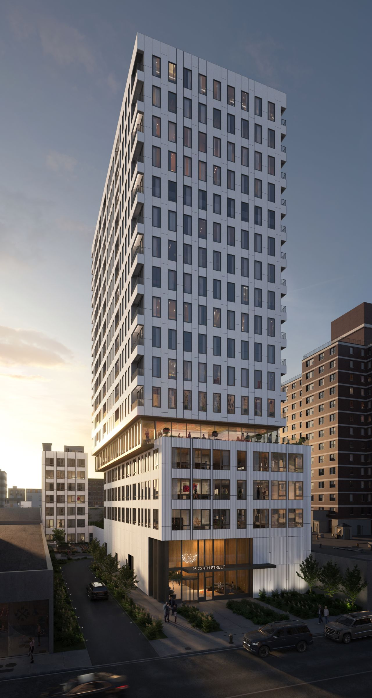 Rendering of 26-25 Fourth Street - J Frankl Associates