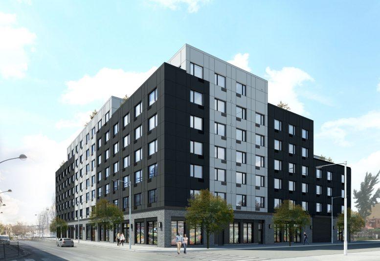 Rendering of 8 Palmetto Street - GF55 Architects