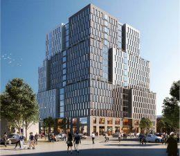 Previous rendering of 840 Atlantic Avenue - IMC Architecture; Vanderbilt Atlantic Holdings, LLC