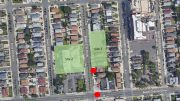 Site map illustrates Development Sites 1 and 2 - THINK Architecture & Design