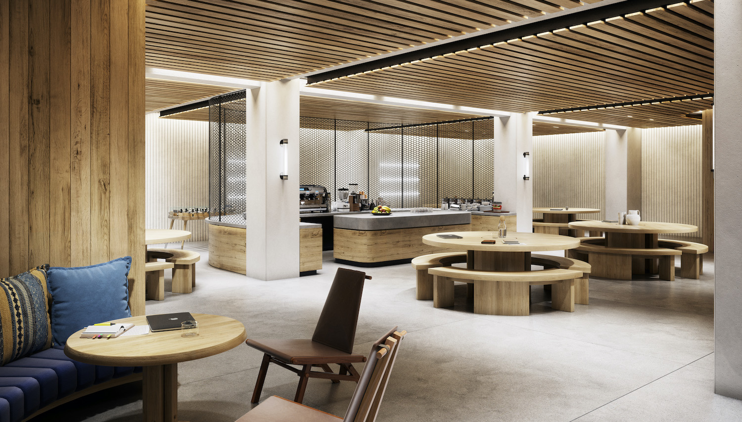 Amenity space of 295 Fifth Avenue in Midtown South