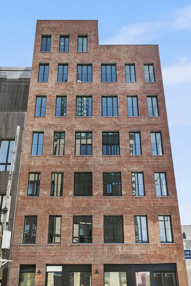 144 West Street in Greenpoint, Brooklyn. All images courtesy of Caspi Development
