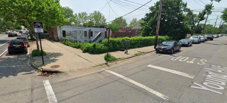 2570-2576 Young Avenue in Pelham Gardens, The Bronx via Google Maps