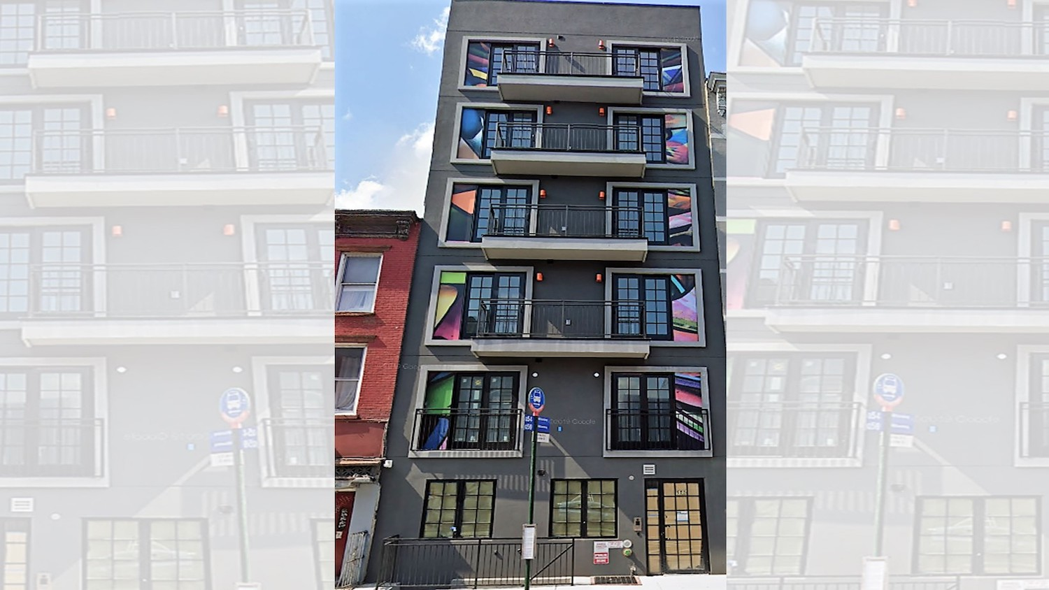 555 Grand Street in Williamsburg, Brooklyn. All images courtesy of NYC Housing Connect