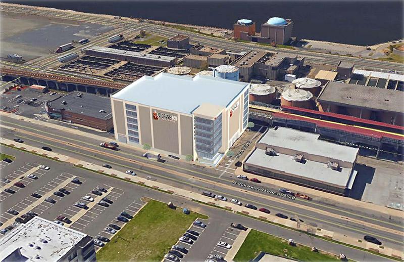 Aerial rendering of 106-02 Rockaway Beach Boulevard - RBB II LLC