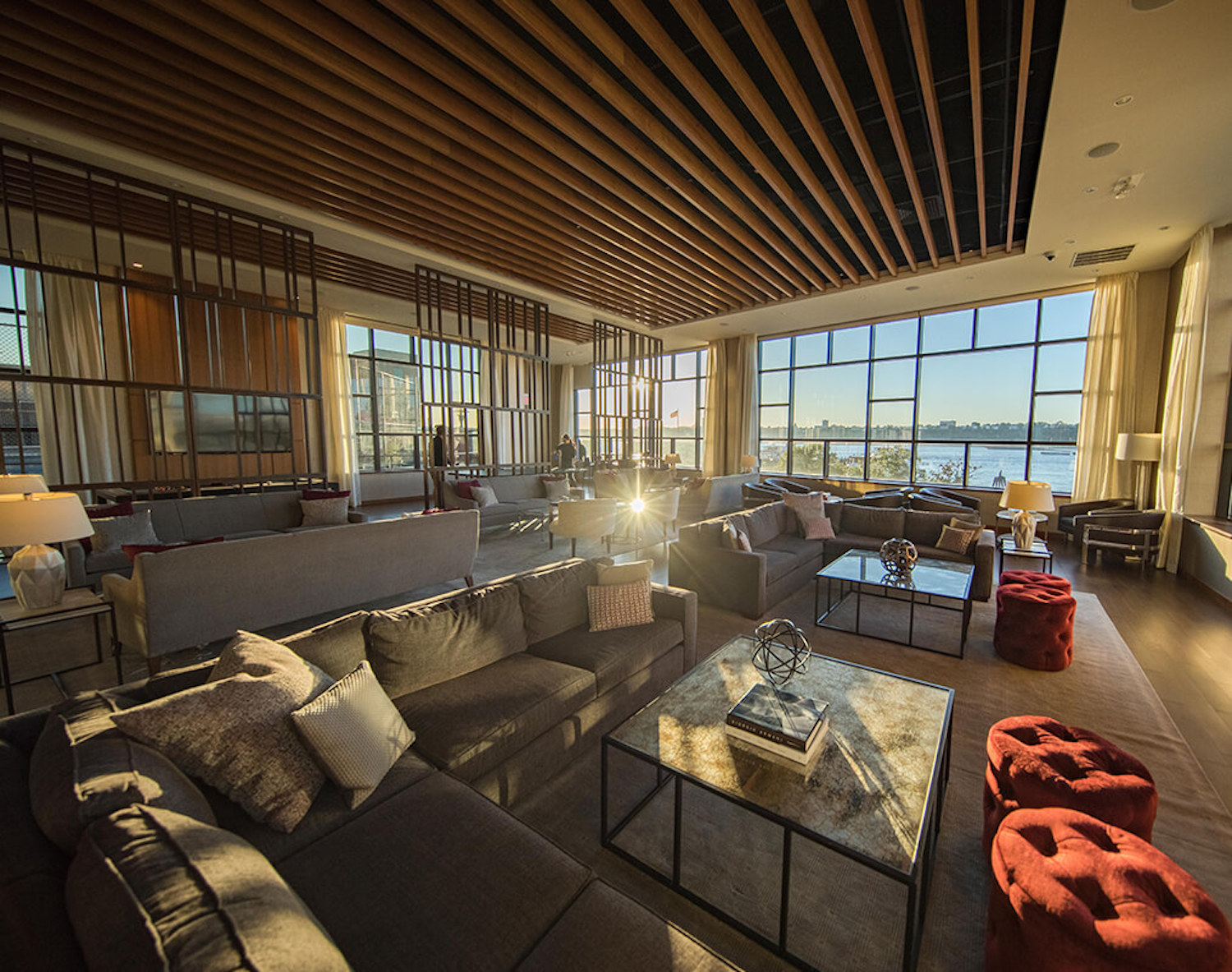 Interiors of 650 West 42nd Street Apartments