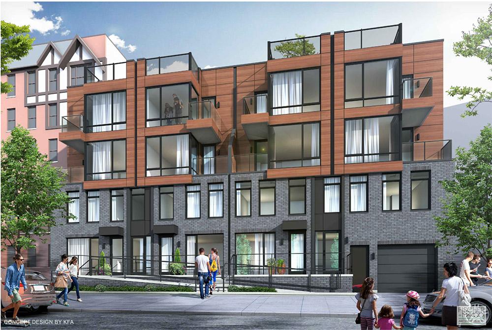 Rendering of 133 Beach 116th Street - Fischer + Makooi Architects
