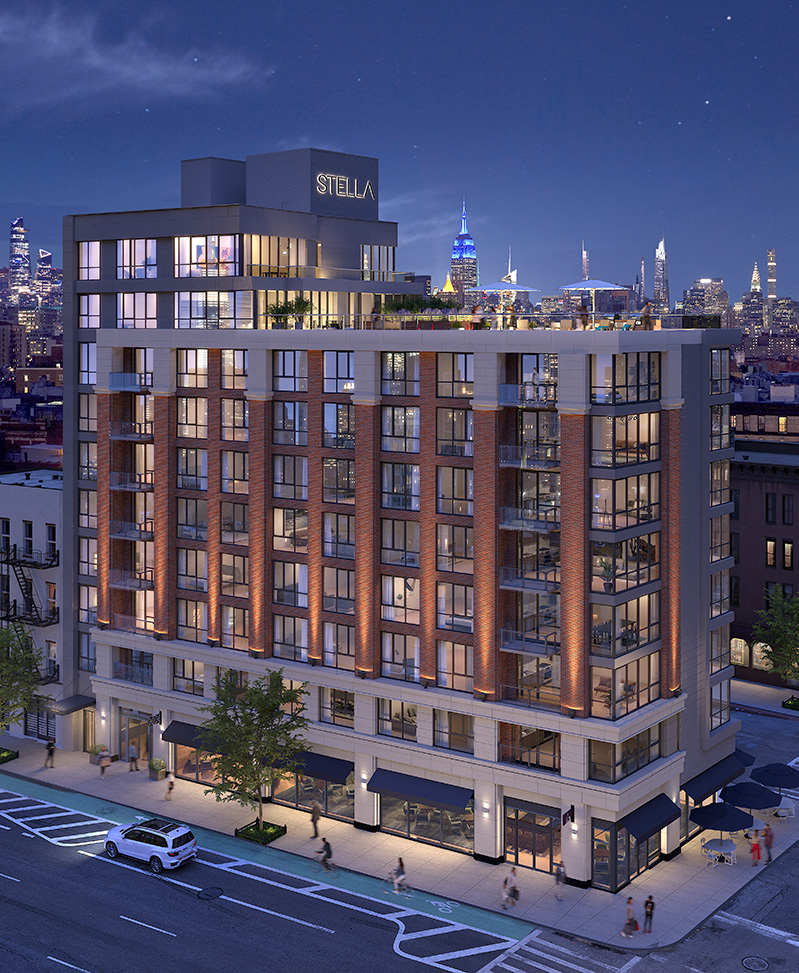 Rendering of Stella LES - BLDG Management Co.; Rotwein + Blake Architects