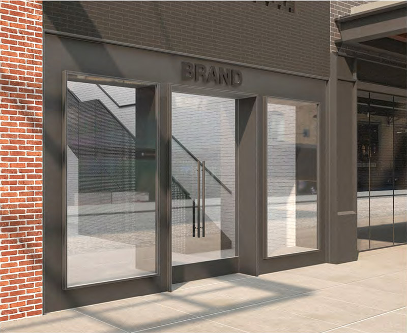 Rendering of West 13th Street elevation - Format Architecture Office