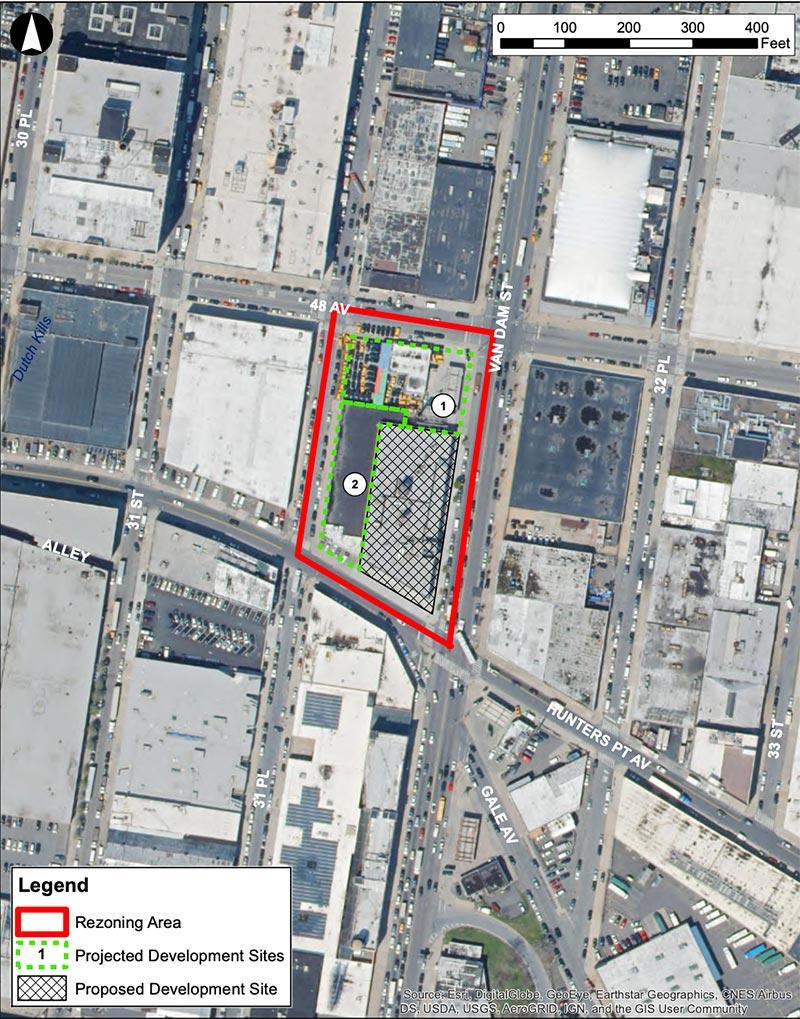 Site map of 48-18 Van Dam Street