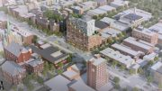 Rendering of 737 Fourth Avenue - Totem; DencityWorks Architecture