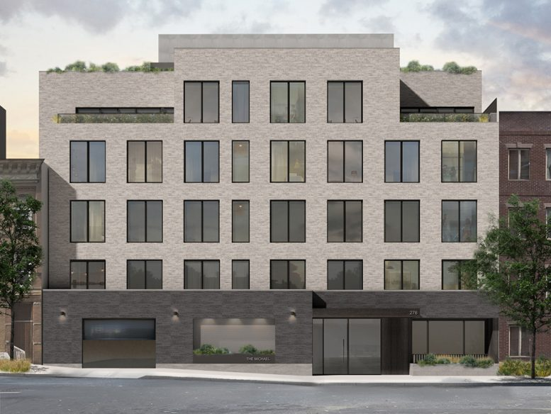 Updated rendering of 276 20th Street - Green Street Group; Tom Winter Architects