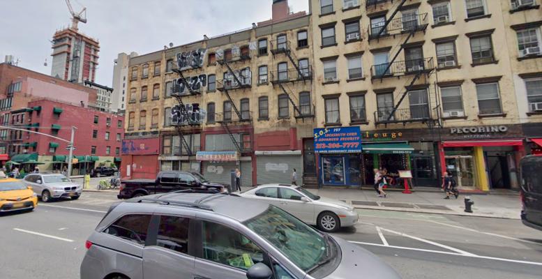 201-207 7th Avenue in Chelsea, Manhattan