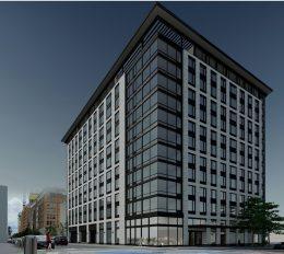 Rendering of One Grove Development in Jersey City. Courtesy of Marchetto Higgins Stieve