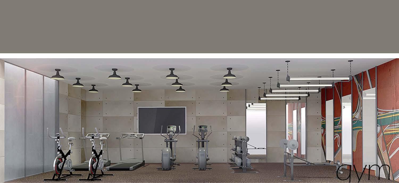 Gym at 2337 Bedford Avenue in Flatbush, Brooklyn
