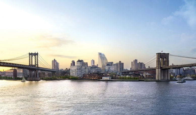 Rendering of Olympia in DUMBO, Brooklyn. Credit: March Made