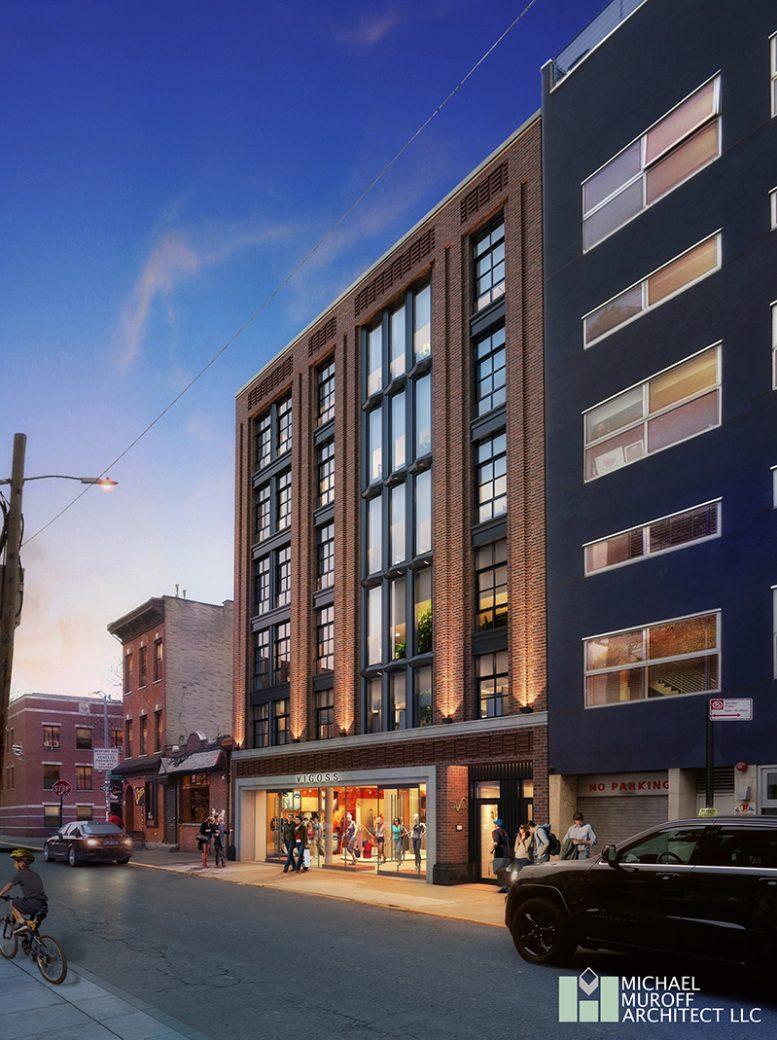 Rendering of 106 North Third Street - Michael Muroff Architect