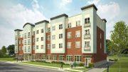 Rendering of East Orange Senior Residences - Photo courtesy of Genesis Companies