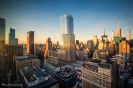 Rendering of Macy's New York City flagship store - FXCollaborative