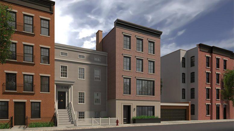 Updated renderings of 56 Middagh Street - Pratt + Black Architects