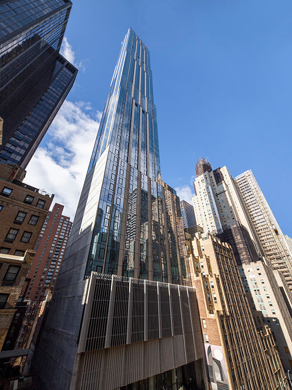 View of The Centrale at 130 East 50th Street - Photo by Jakob Dahlin