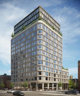Rendering of 272 4th Avenue. Courtesy of Avery Hall Investments