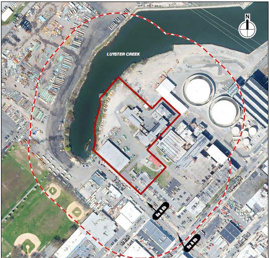 Map illustrates the Wildflower Studios development Site - WF Industrial IV; Wildflower Studios Astoria