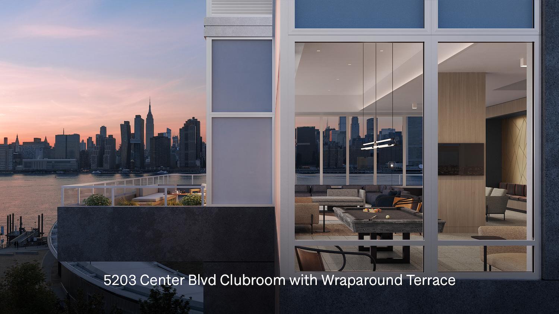 Clubroom at 5203 Center Boulevard