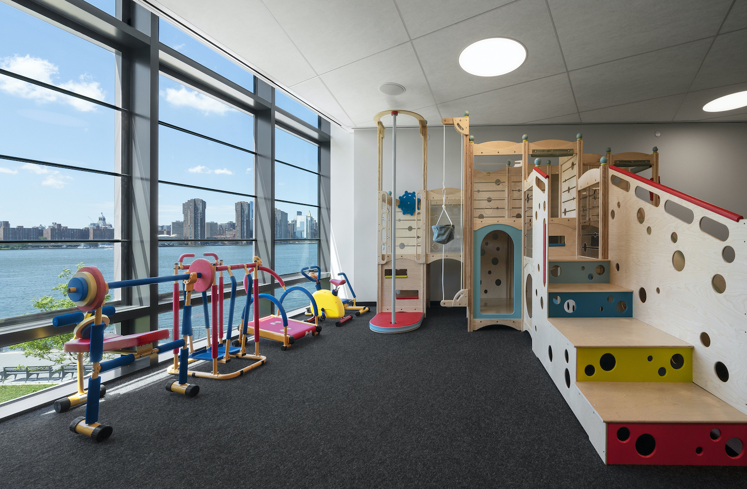 Children's Playroom at Two Blue Slip in Greenpoint, Brooklyn
