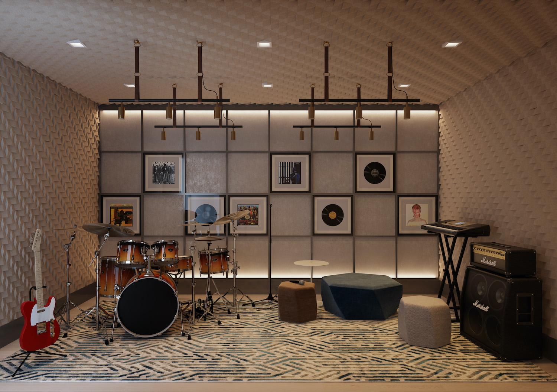 Era Amenities - Music Room