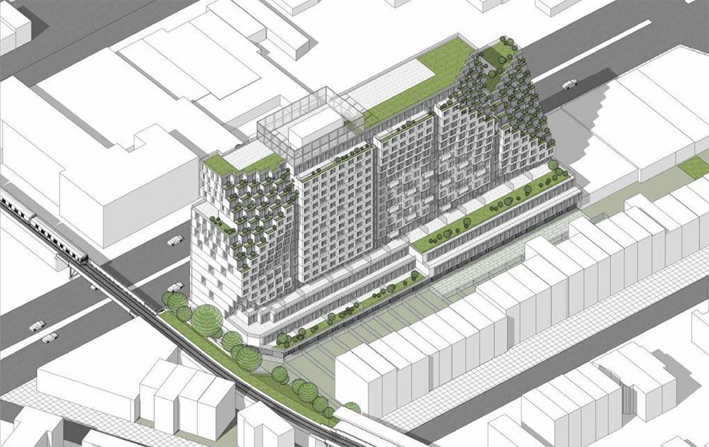 Preliminary rendering of 1045 Atlantic Avenue