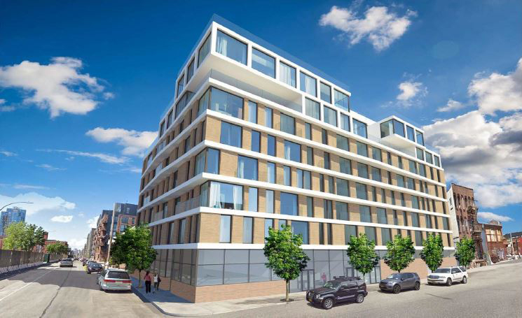 Rendering of proposed development at 79 Quay Street