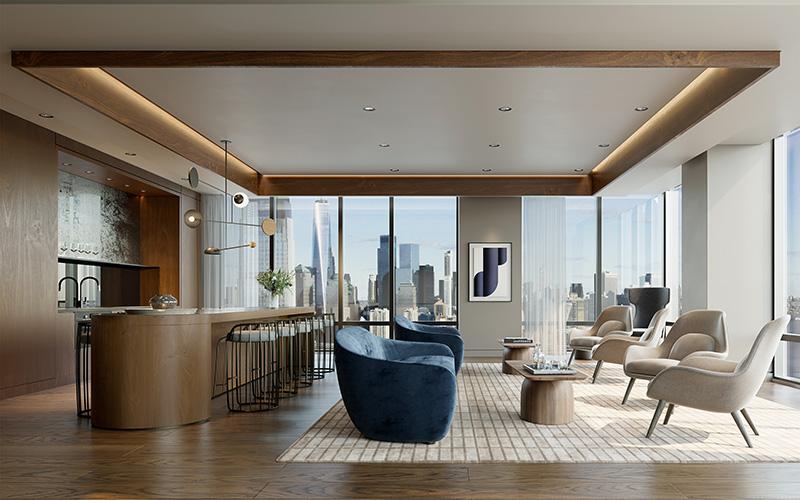 Sky Lounge at The Vantage - Fisher Development Associates